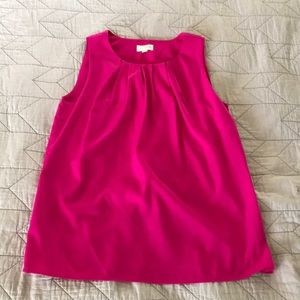 Maison Jules pink Tulip Back Top